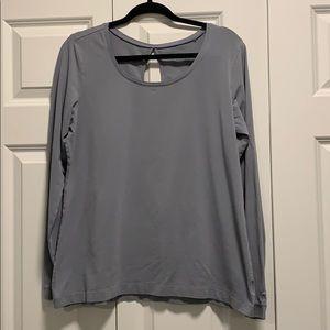 Columbia Long Sleeve Omni-Wick Keyhole T-Shirt